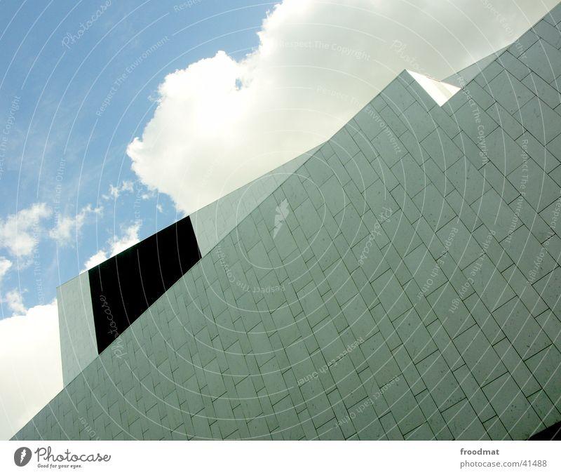 Architektur - Helsinki #1 Himmel Sommer Wolken Fassade Perspektive graphisch