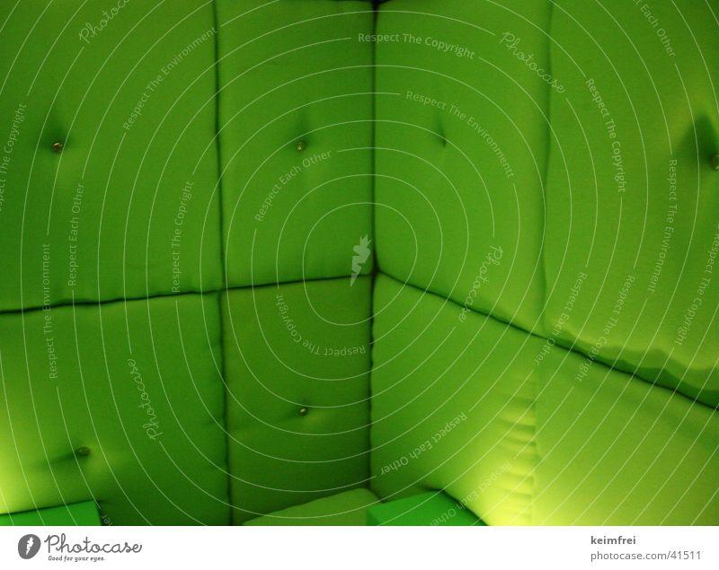 algensofa grün Hintergrundbild weich Sofa gemütlich Leder bequem Polster hellgrün giftgrün Weichzelle