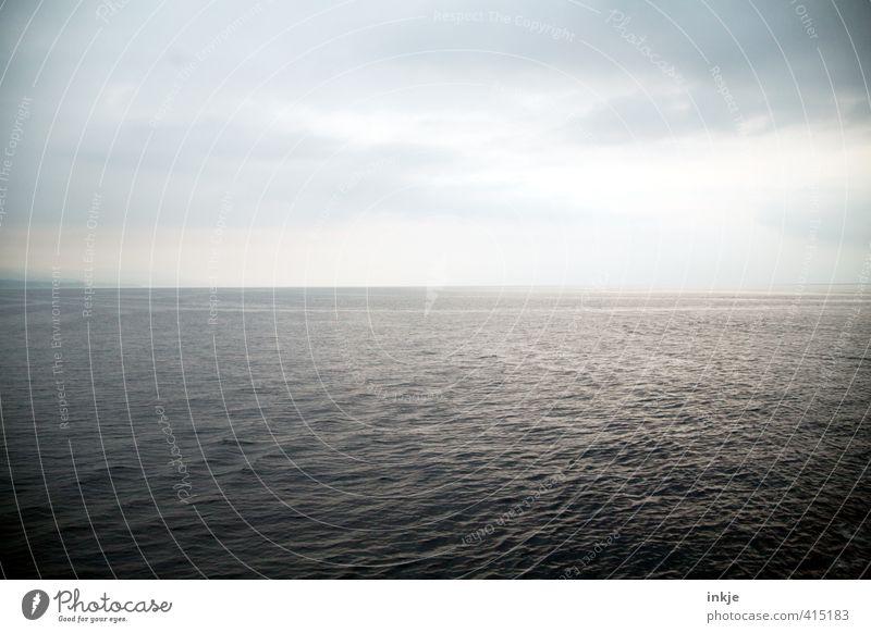 open water Himmel Natur Ferien & Urlaub & Reisen blau Wasser Sommer Meer Ferne Umwelt Wege & Pfade Horizont Erde Wellen groß Schönes Wetter Ewigkeit
