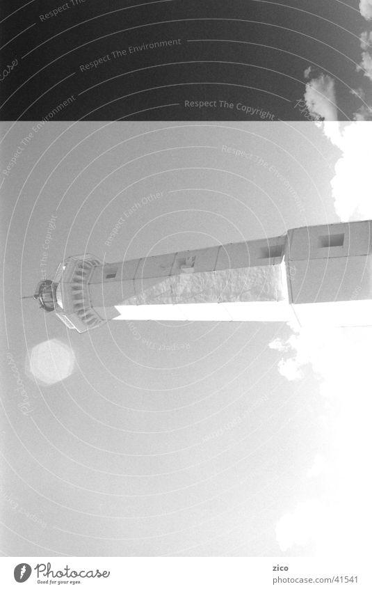 Leuchtturm Himmel Meer Wolken Europa