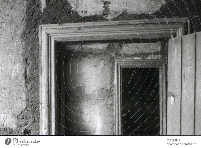 Türen Lehmwand Fototechnik ohne Licht Holzrahmen