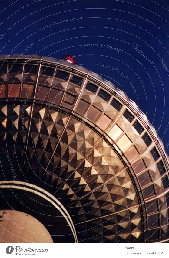 Alexanderturm Berlin Himmel Architektur Aussicht Turm