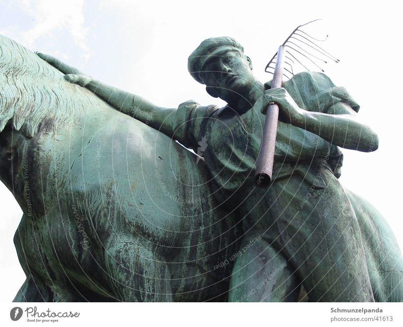 Ludgeri Bauer Pferd Freizeit & Hobby Landwirt Skulptur Münster Nordrhein-Westfalen Kommunist
