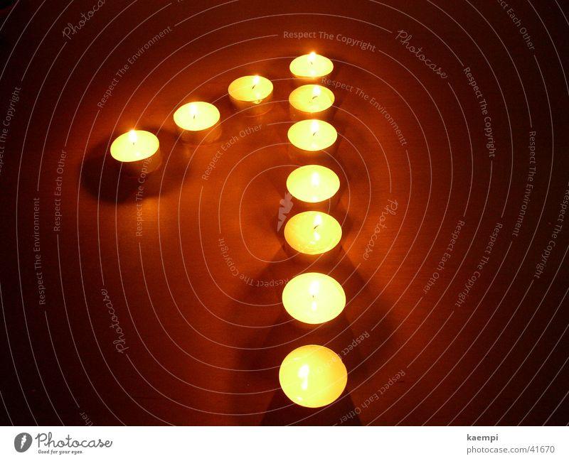 eins Licht Kerze Ziffern & Zahlen hell Freizeit & Hobby Wärme Lichterscheinung