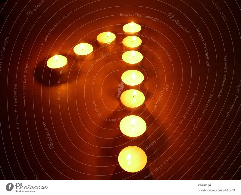 eins Wärme hell Kerze Freizeit & Hobby Ziffern & Zahlen