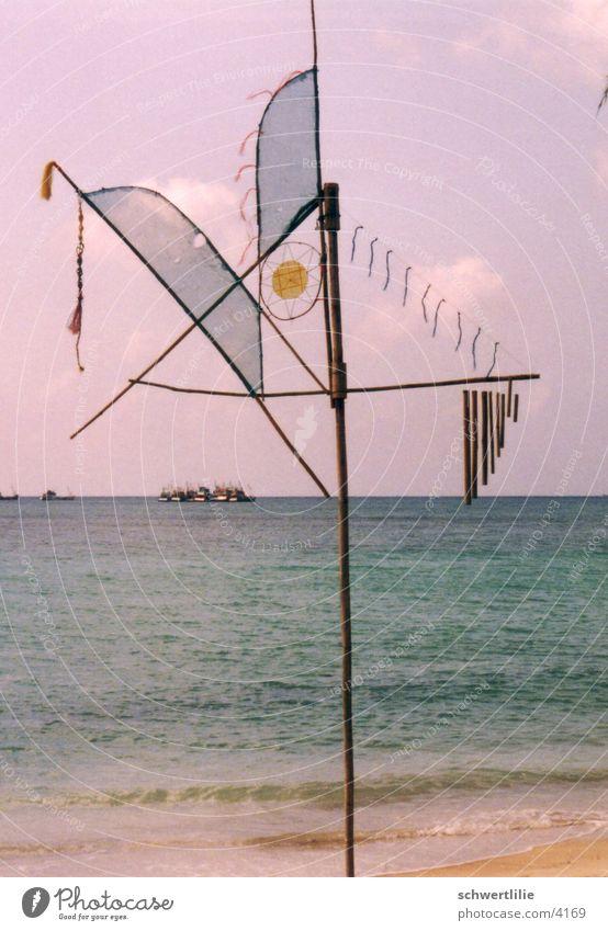Windspiel Thailand Strand Meer