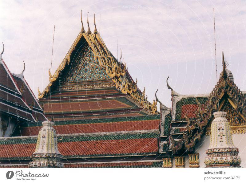 Daecher Thailand Dach Thailand Tempel