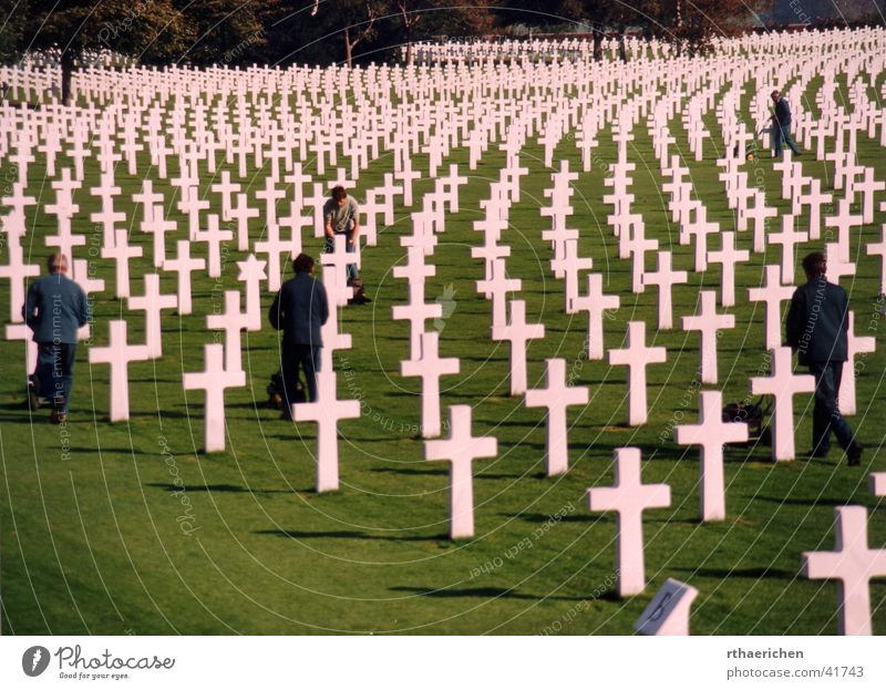 Dead or Alive Leben historisch Krieg Grab erinnern Friedhof Soldatenfriedhof