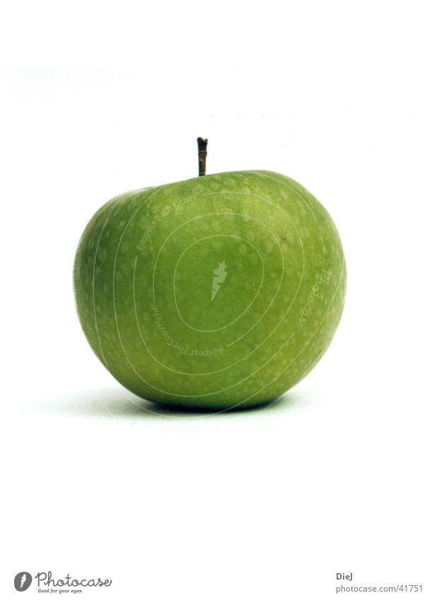 apfel grün Ernährung rund Apfel Frucht