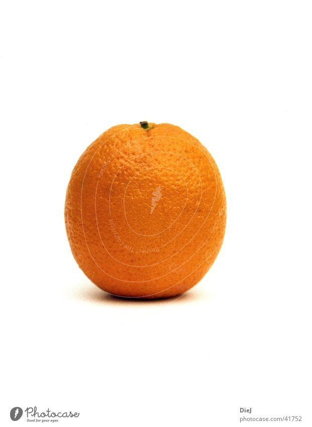 orange Frucht rund