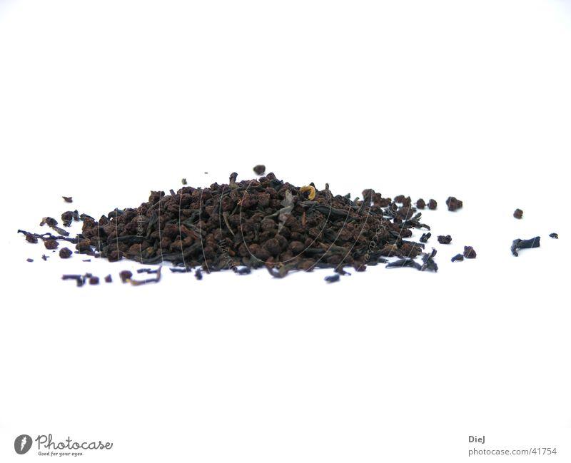 tee Blatt trocken Tee Korn getrocknet Haufen