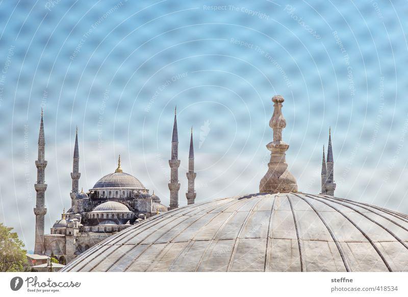 1004 Nächte | Fata Morgana schön Religion & Glaube elegant Schönes Wetter Kirche Wahrzeichen Sehenswürdigkeit Türkei Istanbul Islam Moschee Minarett