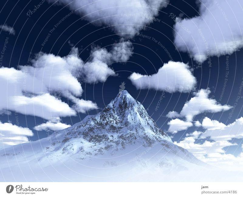 DerGipfel Berge u. Gebirge