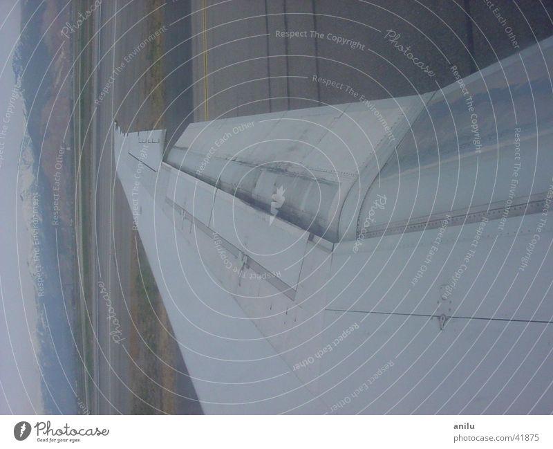 Plane wing Abdeckung