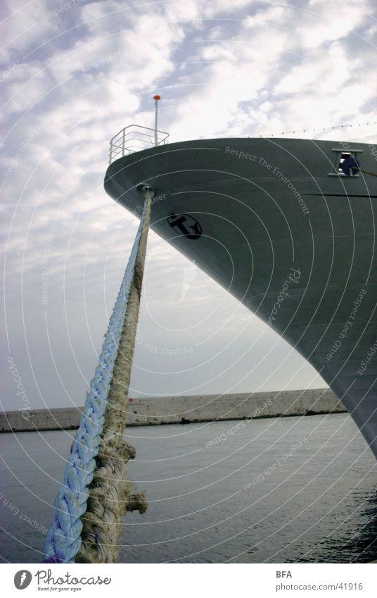 Lange Leine Wasserfahrzeug Hafen Anlegestelle Cote d'Azur Nizza