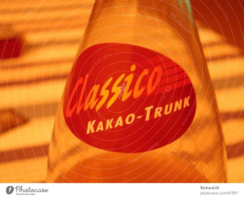 Classico - Kakao Trunk Ernährung Glas Getränk Flasche Kakao