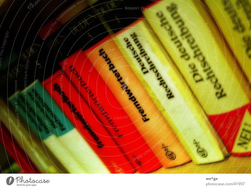 Lexika Lexikon Buch Dinge Duden Fremdwörter Farbe
