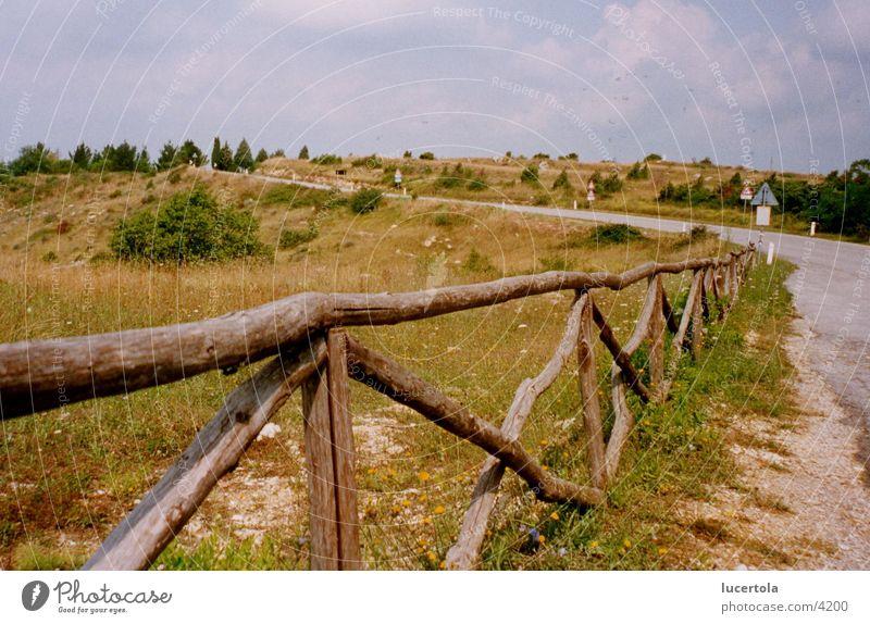Zaun für nichts Barriere Toskana