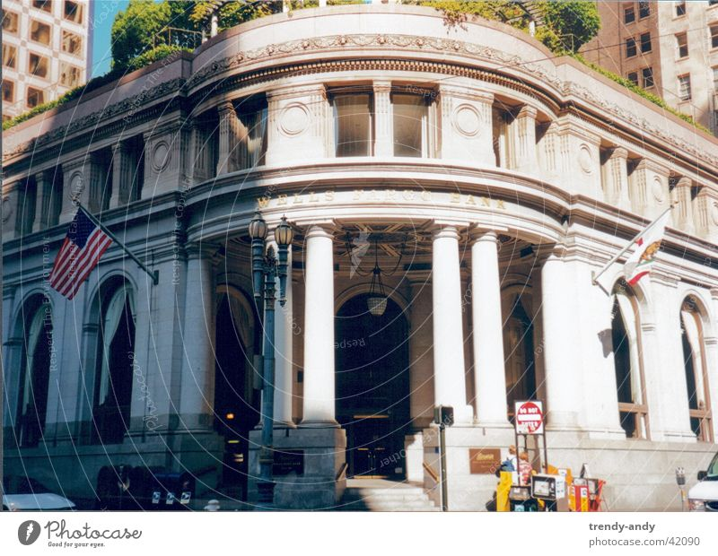 Wells Fargo Bank SF Architektur USA Bank
