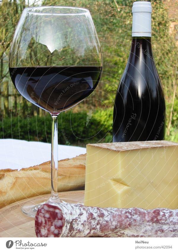Genuss pur Stil Ernährung genießen Wein