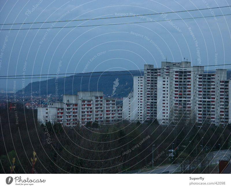 Hochhäuser Architektur Hochhaus Wohnsiedlung