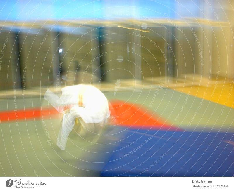 SlowMotion Sport Bewegung Salto Kampfsport Kampfkunst Judo