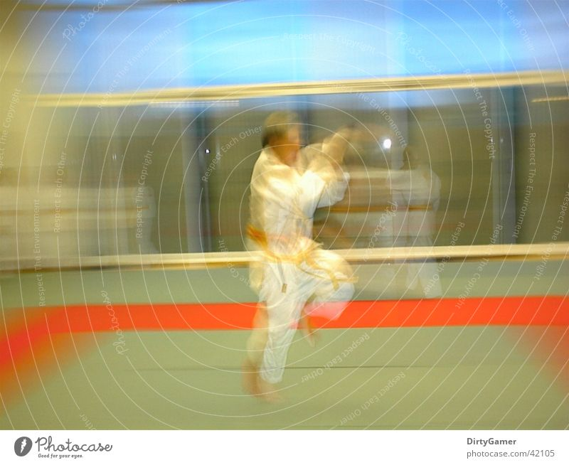 SlowMotion2 Sport springen Bewegung Judo