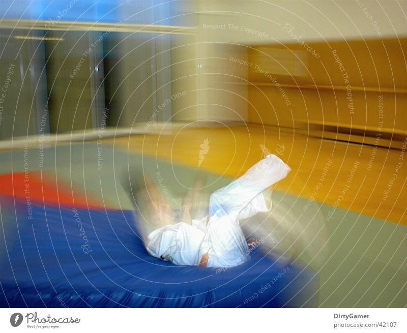SlowMotion4 Sport Bewegung fallen Kampfsport Judo