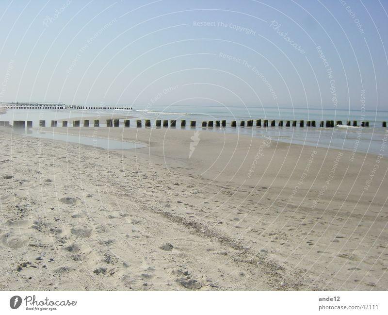 Graal Müritz Meer Strand Ostsee