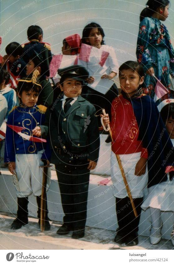 Halloween in Peru Mensch Kind Kultur Südamerikaner Lebensformen