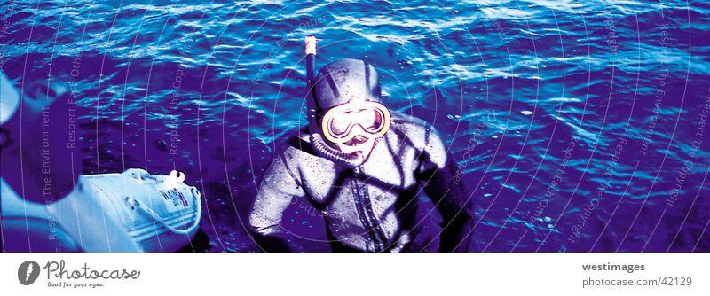 Schnorchler Wasser Meer tauchen Schwimmen & Baden Schnorcheln Adria