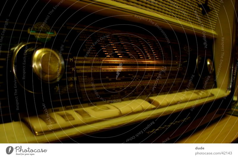 altes radio Nostalgie Fototechnik altmodisch Radio