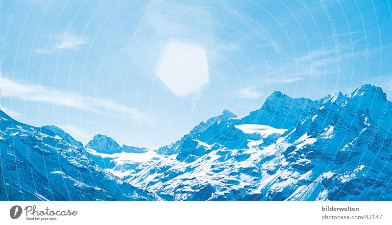 Bergsonne Sonne Erholung Berge u. Gebirge wandern Gipfel