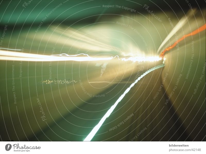 Tunnel Licht PKW Ferien & Urlaub & Reisen