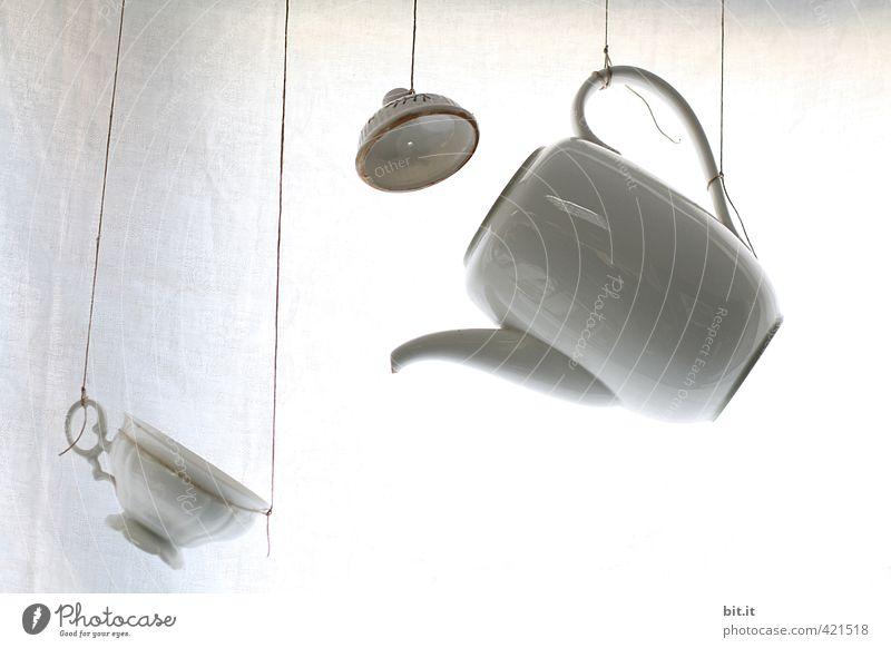 schwarzweißgrau | in Farbe lustig träumen Häusliches Leben Dekoration & Verzierung Geburtstag Tisch Zeichen Hochzeit Küche Kaffee trinken Kitsch Geschirr hängen