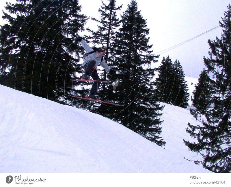 Schanze Winter Schnee Skifahren