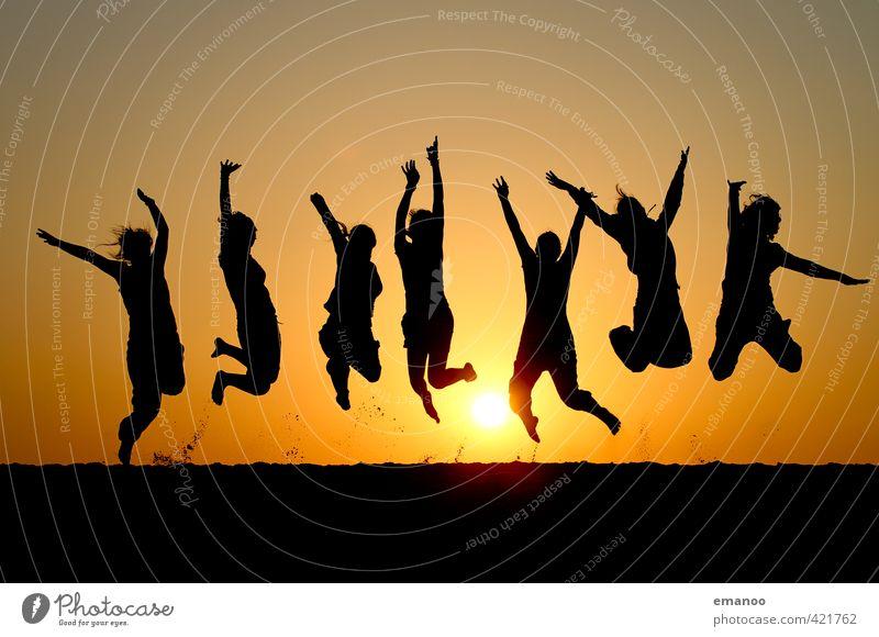 die 7 Schwestern Lifestyle Stil Freude Ferien & Urlaub & Reisen Ferne Freiheit Sommer Sommerurlaub Sonne Strand Meer Mensch feminin Frau Erwachsene