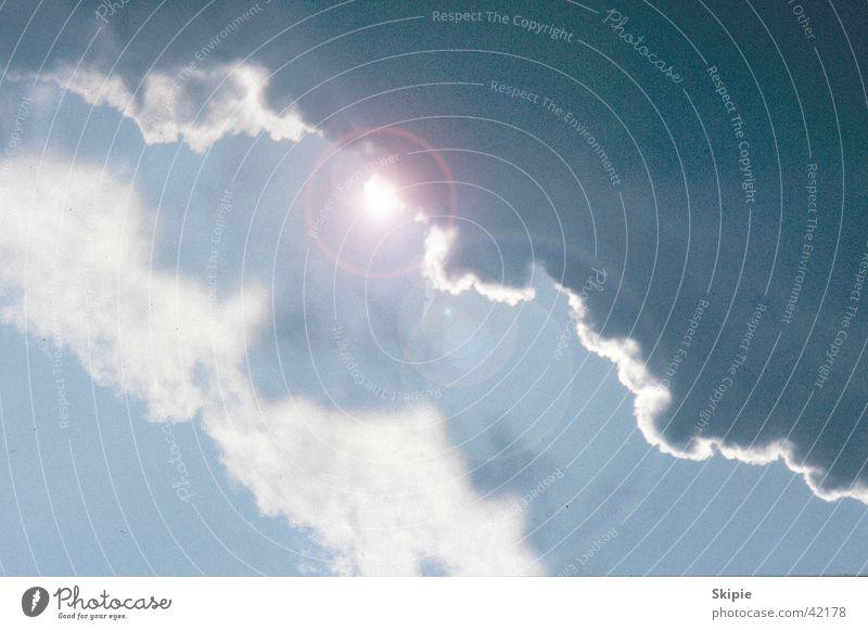 Sonne nach Gewitter Wolken