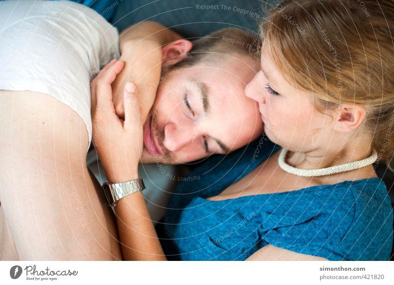 Liebespaar Mensch Jugendliche Erwachsene Leben Glück Paar Freundschaft Familie & Verwandtschaft Zusammensein Zufriedenheit Warmherzigkeit Sicherheit Schutz