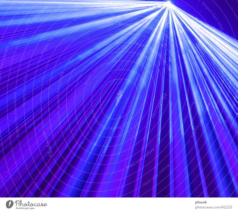 laserblue Laser Disco Licht Wellen Nebel Fototechnik blau verschlusszeit ray lightray Rauch