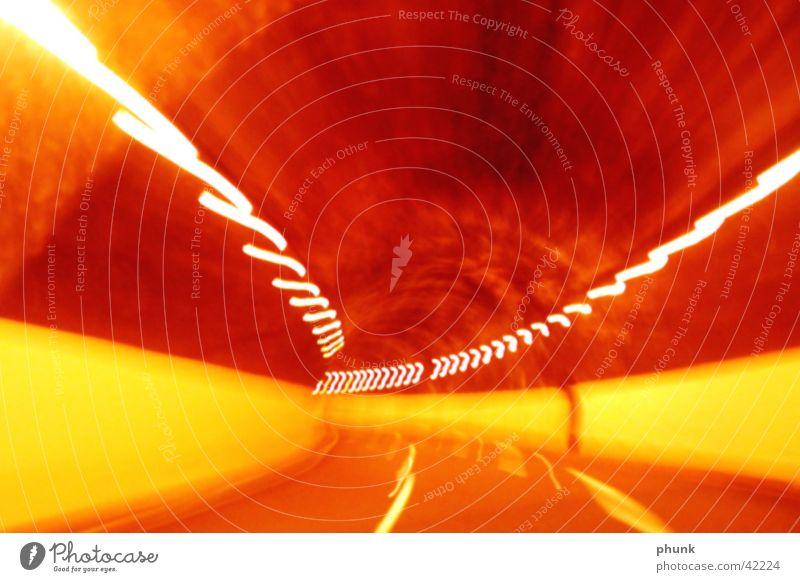 tunnelblur2 rot gelb Tunnel