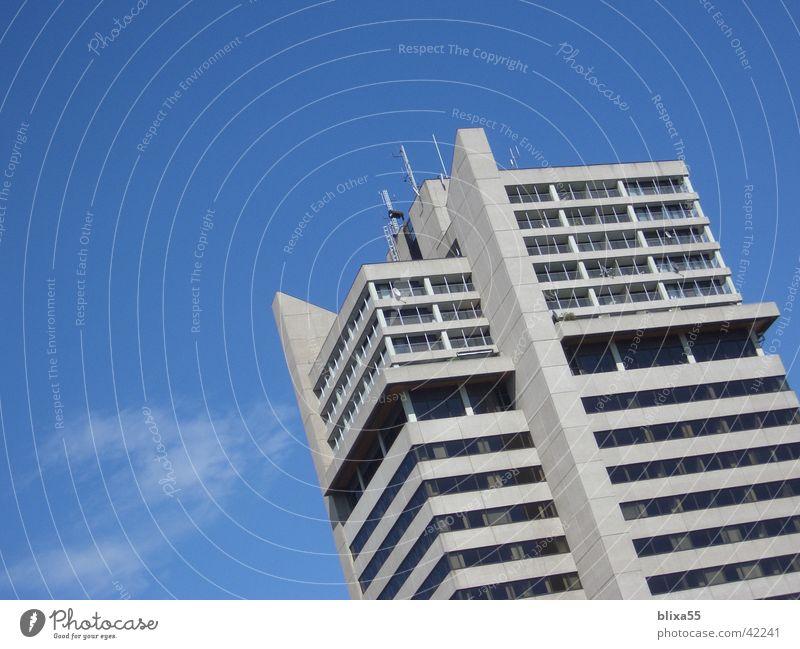 Hochhaus (Platte) Beton Architektur betonfassade augenkrampf musterbeispiel für schlechte architektur multistoried building concrete front eye cramp