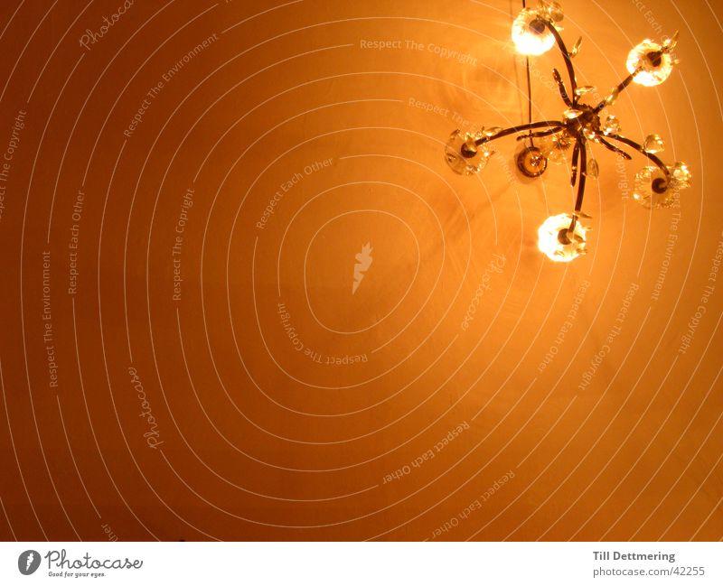 Kronleuchter Lampe Licht Glühbirne Ambiente Dinge Decke Metall