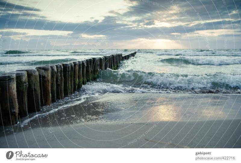 600 - einatmen ausatmen Himmel Natur Ferien & Urlaub & Reisen blau Wasser Sommer Meer Erholung Landschaft ruhig Strand Ferne Küste Glück natürlich Horizont