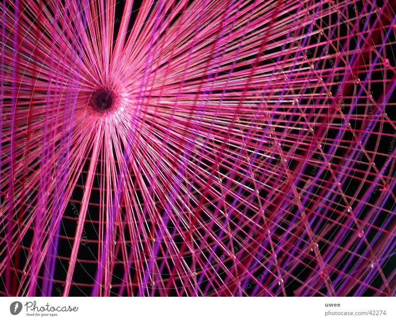 spider network Farbe rosa Netzwerk Netz Dekoration & Verzierung Dinge Spinne Nähgarn