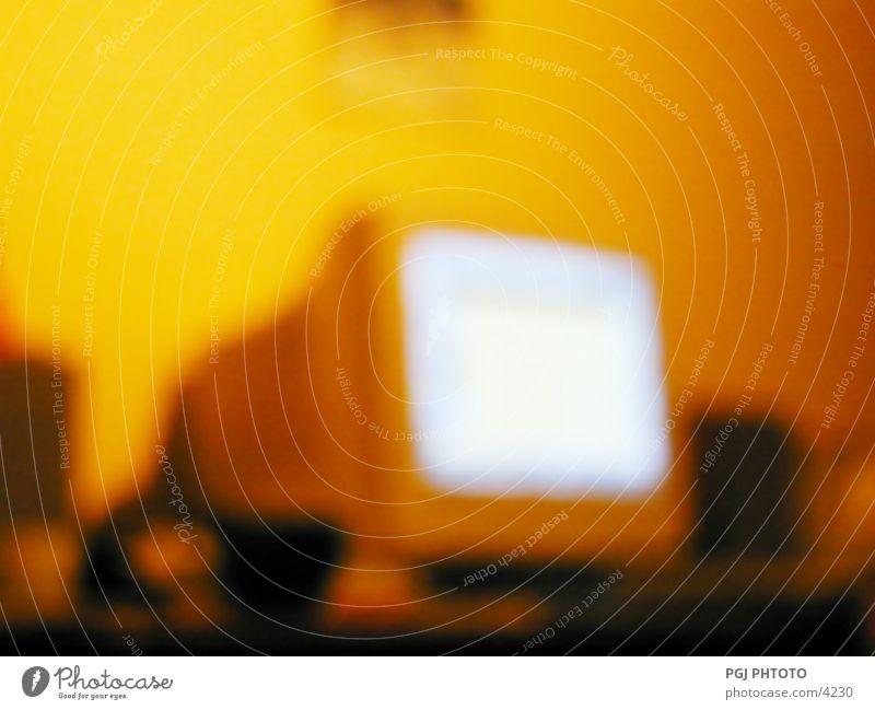 Warme Komputerwelten ? Computer Bildschirm Unschärfe Dinge komputer screen blur Farbe