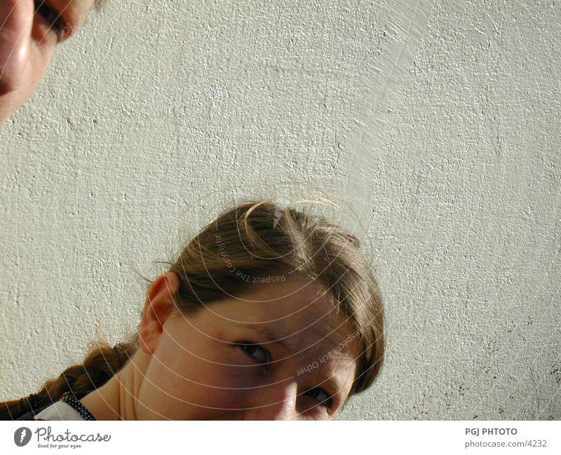 Sonntagsblick Frau Mensch Gesicht Auge sprechen Stil