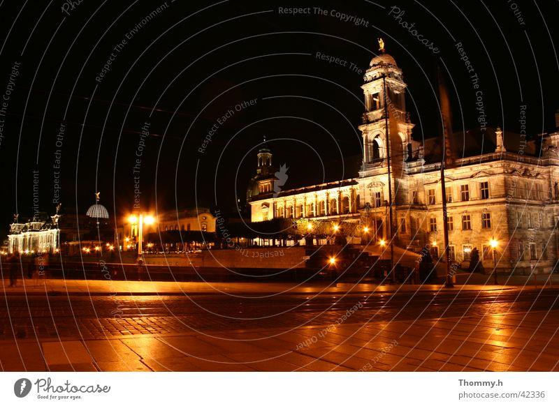Blick auf die Brühlsche Terasse in Dresden Stadt Architektur