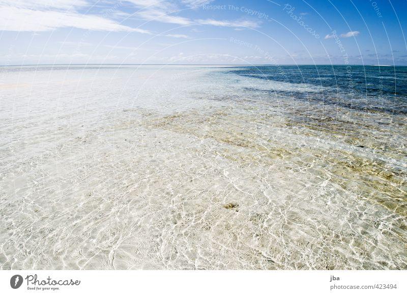 seicht II Wohlgefühl Zufriedenheit Erholung ruhig Ferien & Urlaub & Reisen Ferne Sommer Sommerurlaub Sonne Strand Meer Insel Wellen Natur Landschaft Urelemente