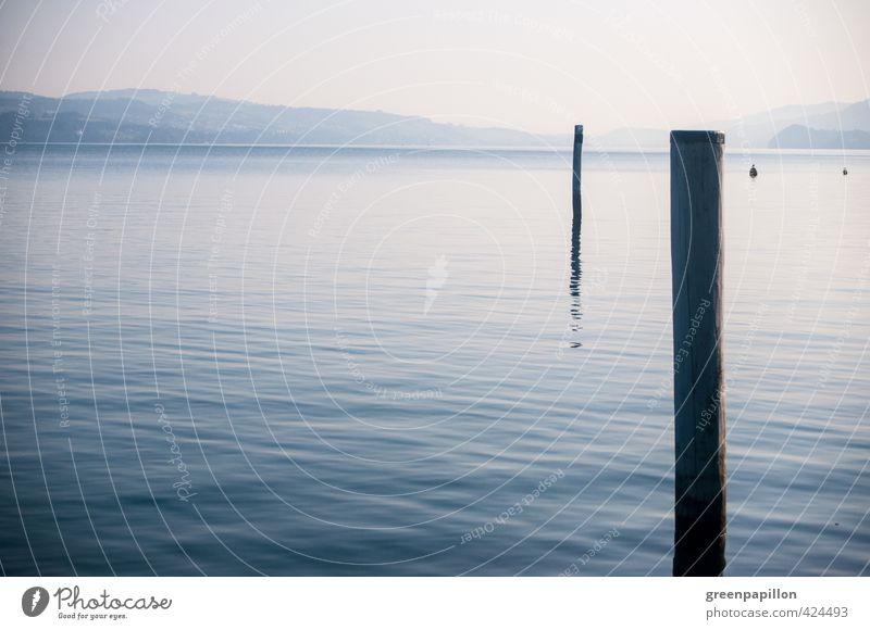 Morgennebel - Vierwaldstätter See Natur Ferien & Urlaub & Reisen Wasser Sommer Erholung Landschaft Strand Ferne Berge u. Gebirge Leben Frühling Freiheit